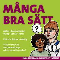 Framsidan till häfte om bra dialoger med barn