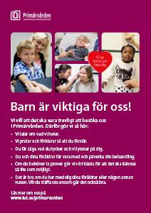 Affisch för väntrum i primärvården