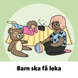 Barn ska få leka: ett memorykort från Barnrätt för alla (barnrättföralla.se)